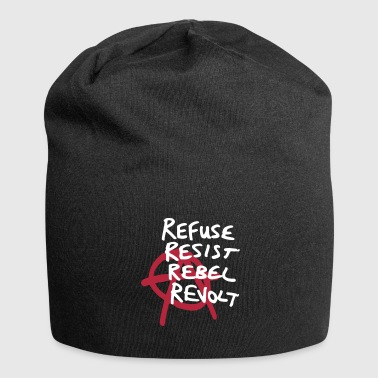 Refuse Resist Rebel Revolt! - Jersey-Beanie
