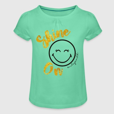 SmileyWorld Always shine on - Girl's T-shirt with Ruffles