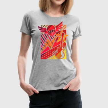 Funky Music (Pop Art) - Frauen Premium T-Shirt