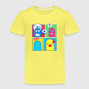Kleine Monster (Pop Art) 01 - Kinder Premium T-Shirt