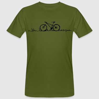 Bike lined 1 - by i.r.k. - Männer Bio-T-Shirt