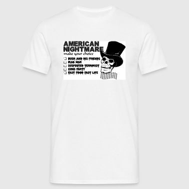AMERICA NIGHTMARE - haute collection - - T-shirt Homme
