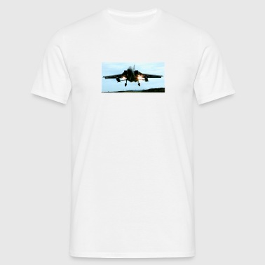 White Tornado on finals Men's Tees - Men's T-Shirt