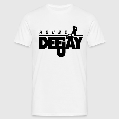 HOUSE DJ TSHIRT, IN HOUSE DJ - Men's T-Shirt