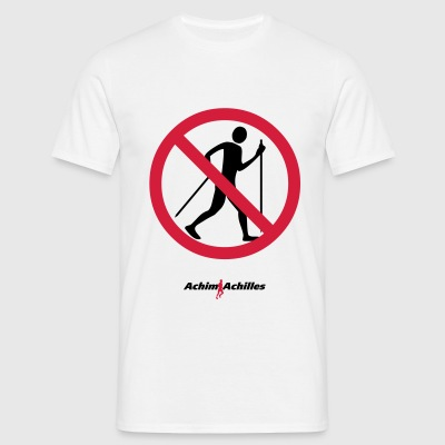 Achim Achilles - No Walker! T-Shirt - Men's T-Shirt