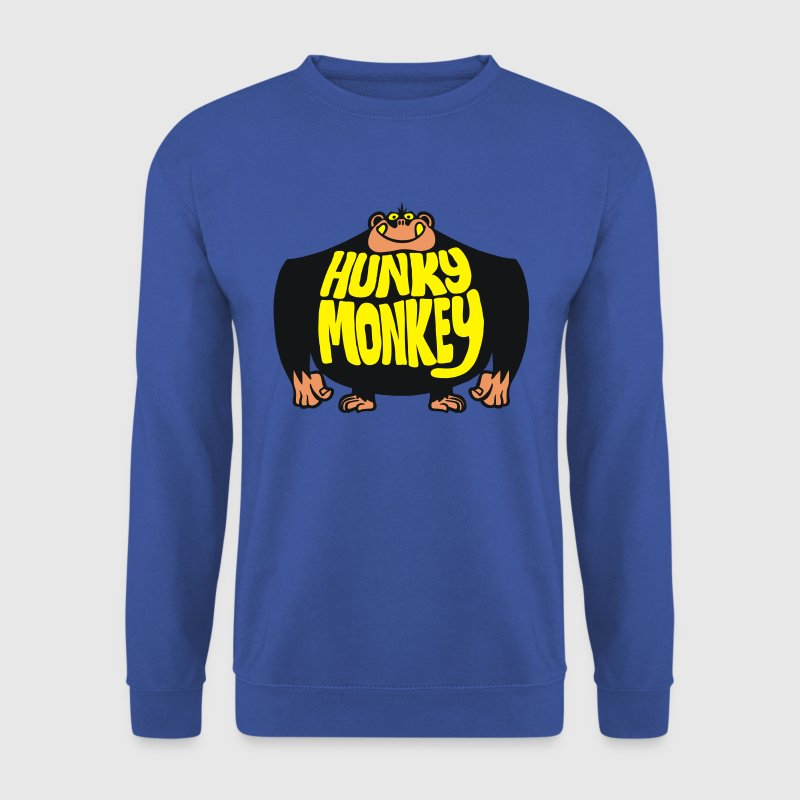Red Hunky Monkey Jumpers - Men's Sweatshirt