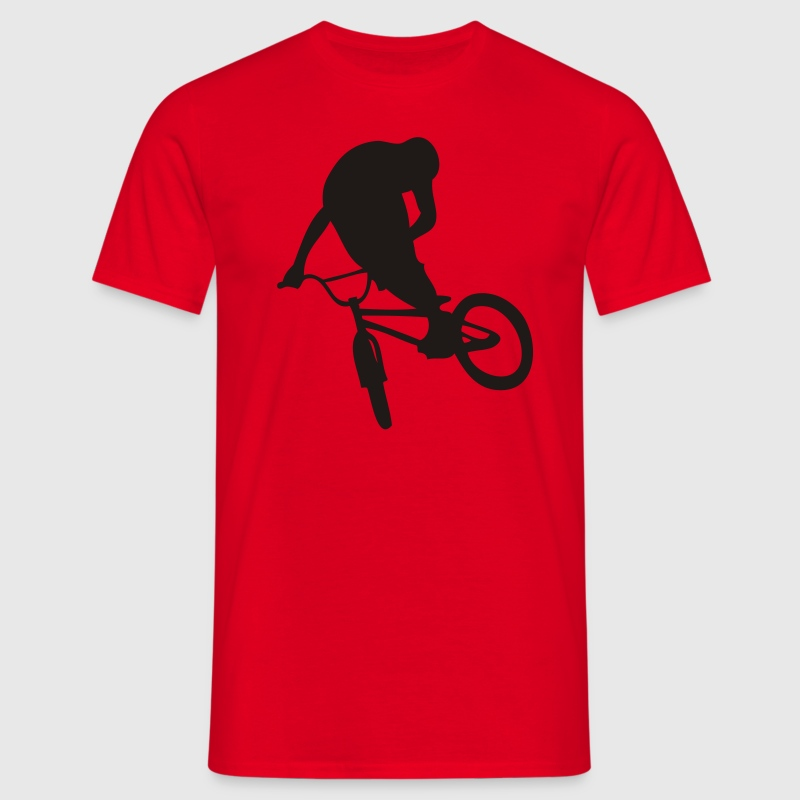 BMX Red - T-shirt Homme