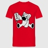 Rouge Ourson T-shirts - T-shirt Homme