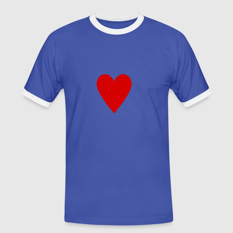 Card game,Playing Card,Hearts,Diamonds,Spades,Clubs,Rummy,Canasta,Poker - Men's Ringer Shirt