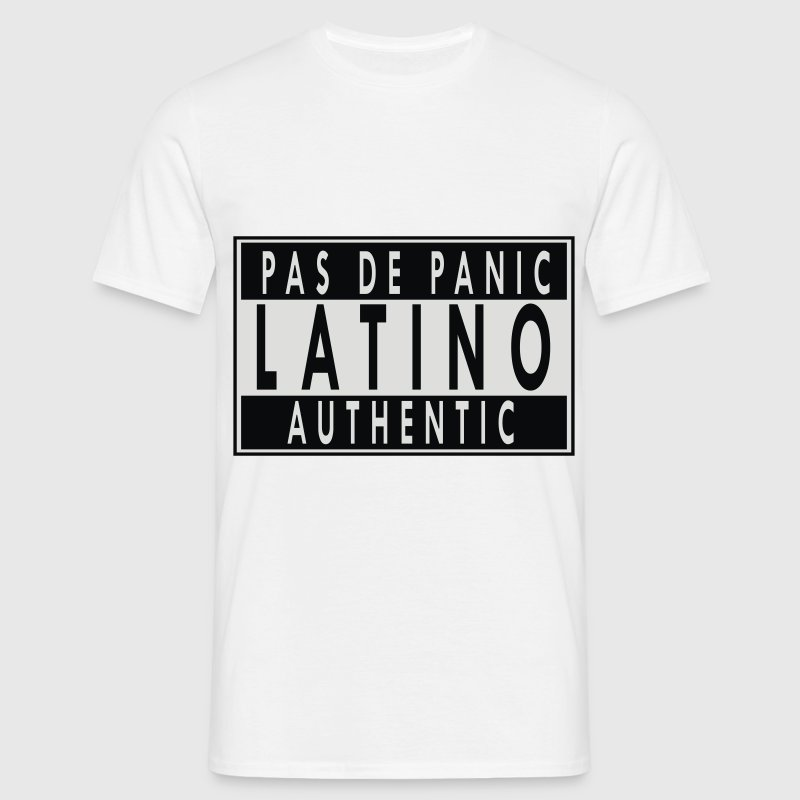 Latino authentic ! - T-shirt Homme