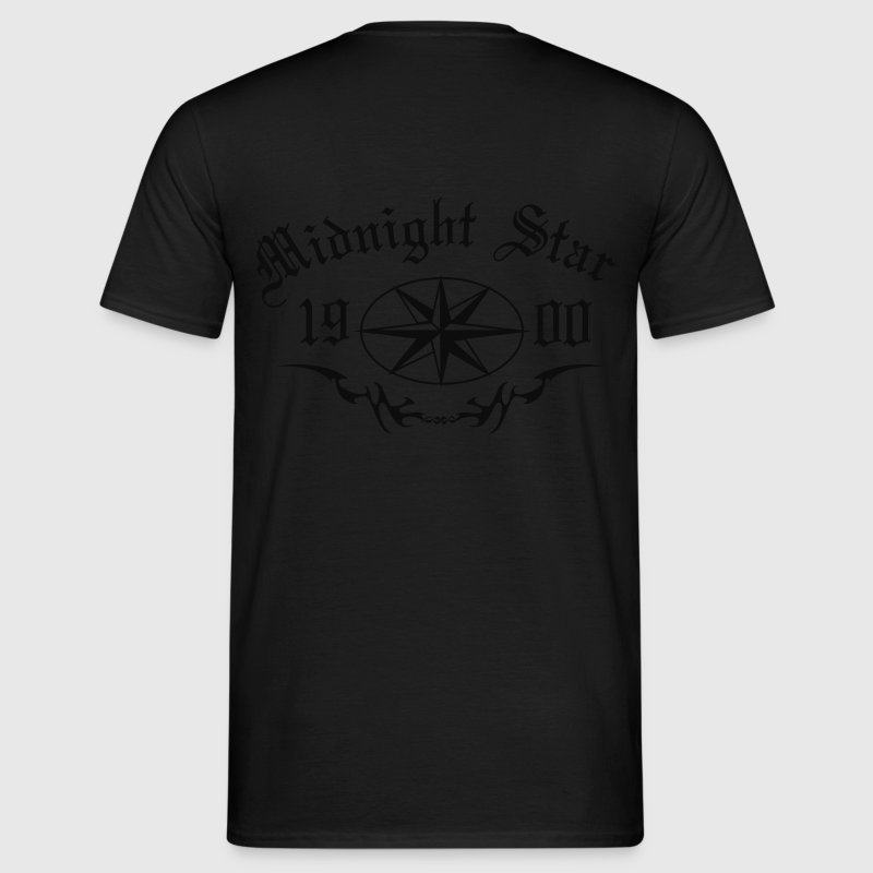 Herren Shirt Midnight Star - Männer T-Shirt