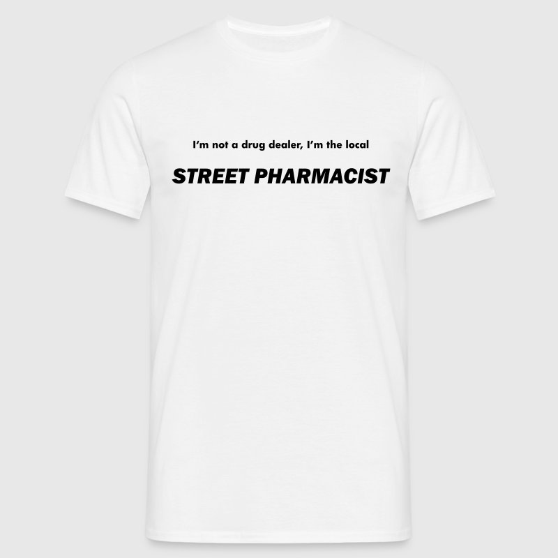 White Street Pharmacist Men's Tees - Men's T-Shirt