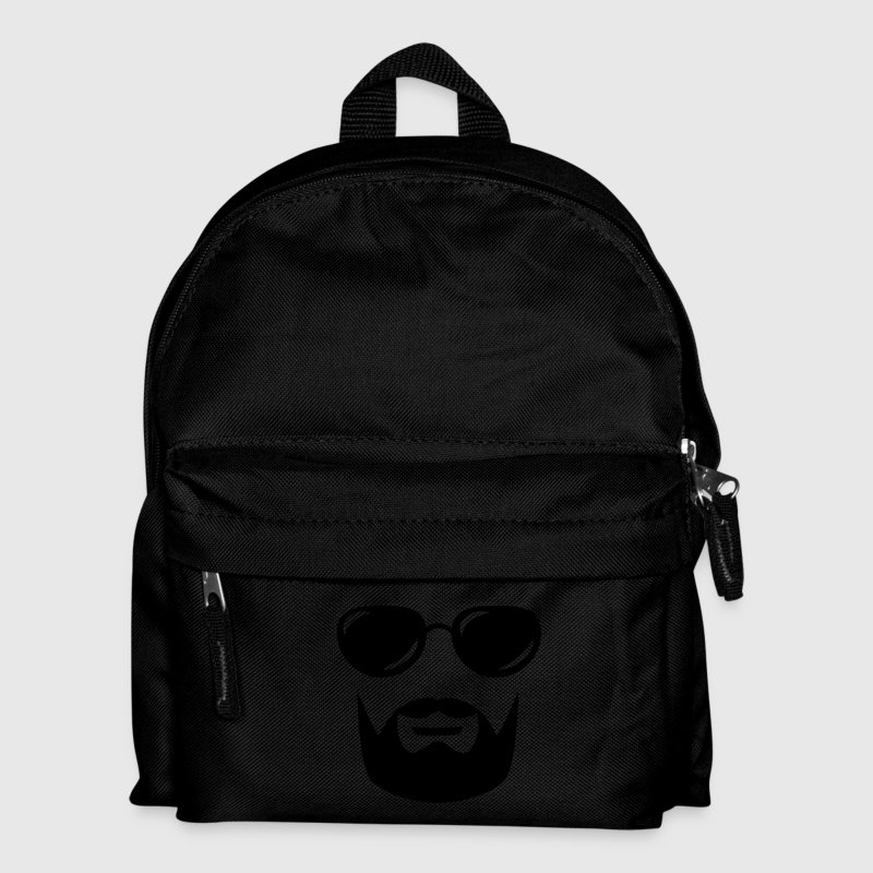 sunglasses mustache and beard Bags  - Kids' Backpack