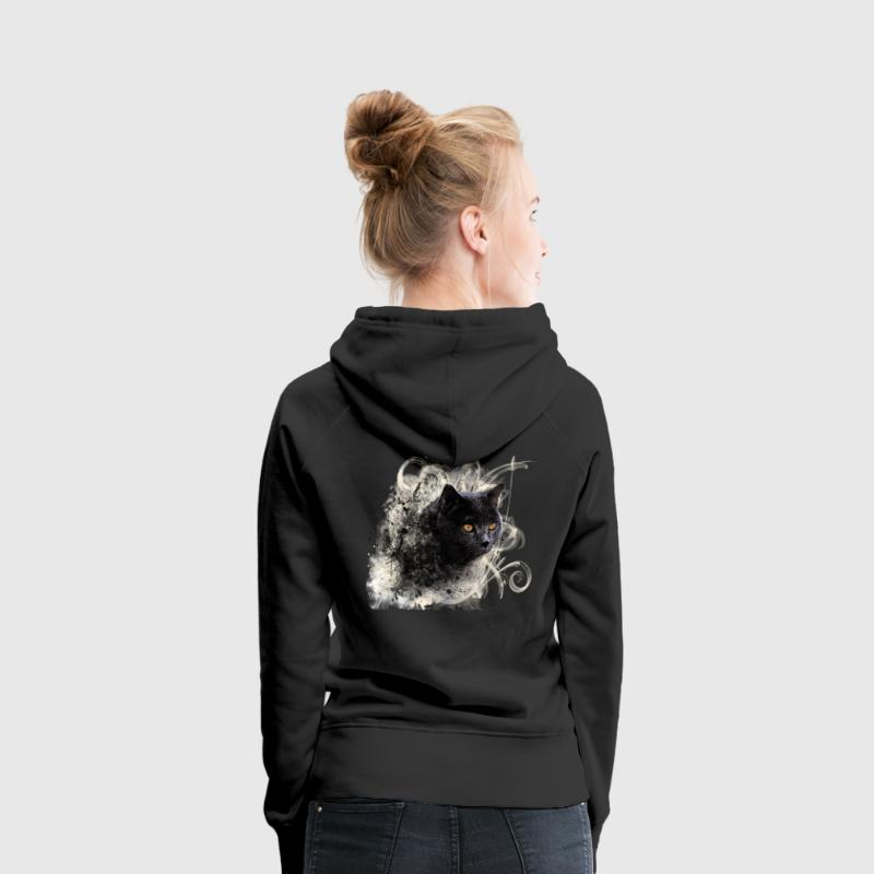 chat (chris31) Sweat-shirts - Sweat-shirt à capuche Premium pour femmes