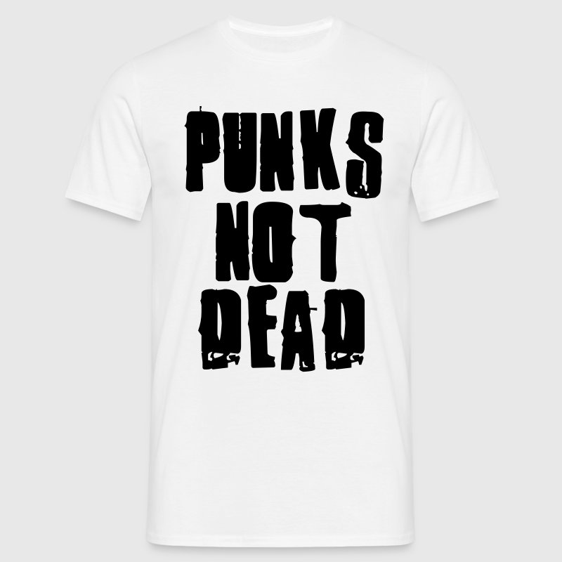 Punks Not Dead Tee shirts - T-shirt Homme