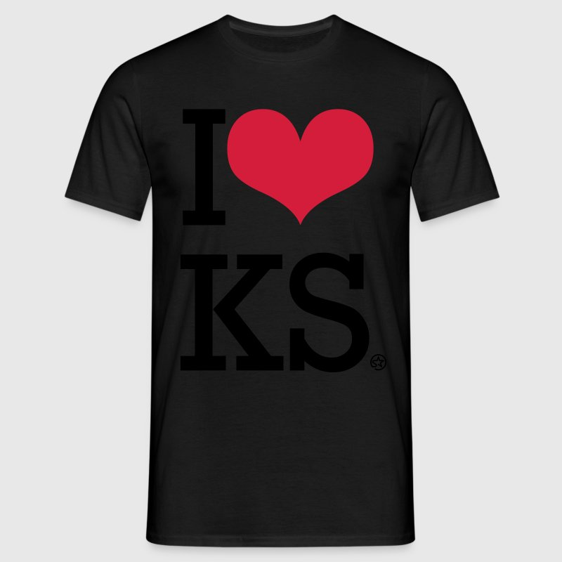 I LOVE KS T-Shirts - Men's T-Shirt