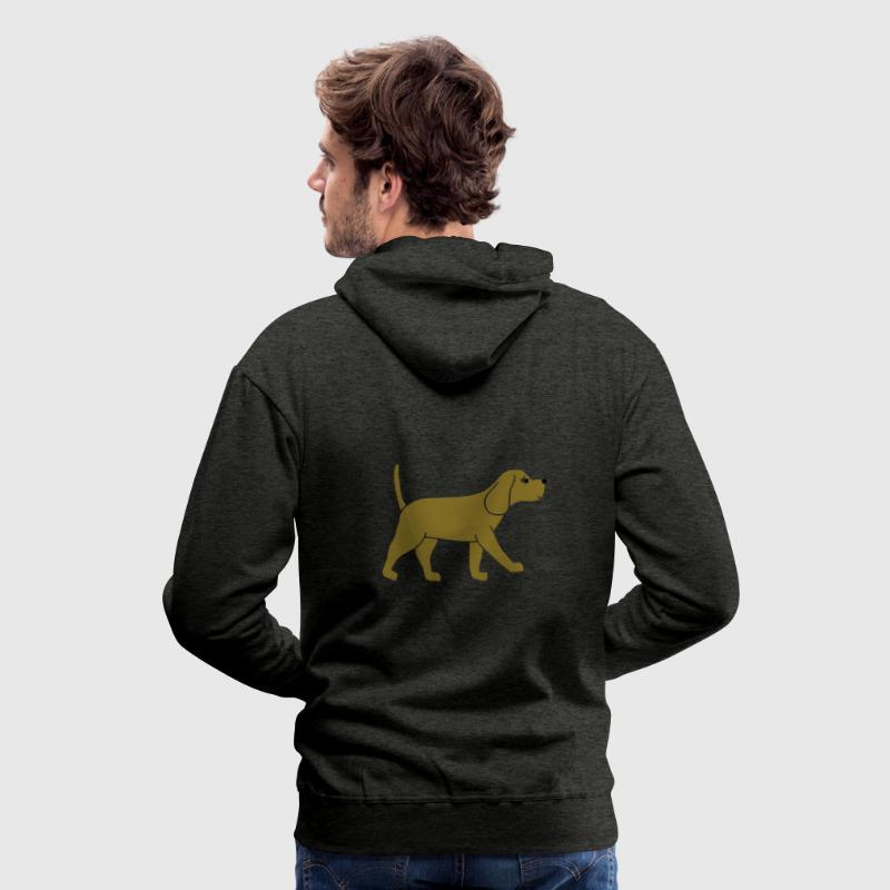 Beagle  Sweat-shirts - Sweat-shirt à capuche Premium pour hommes