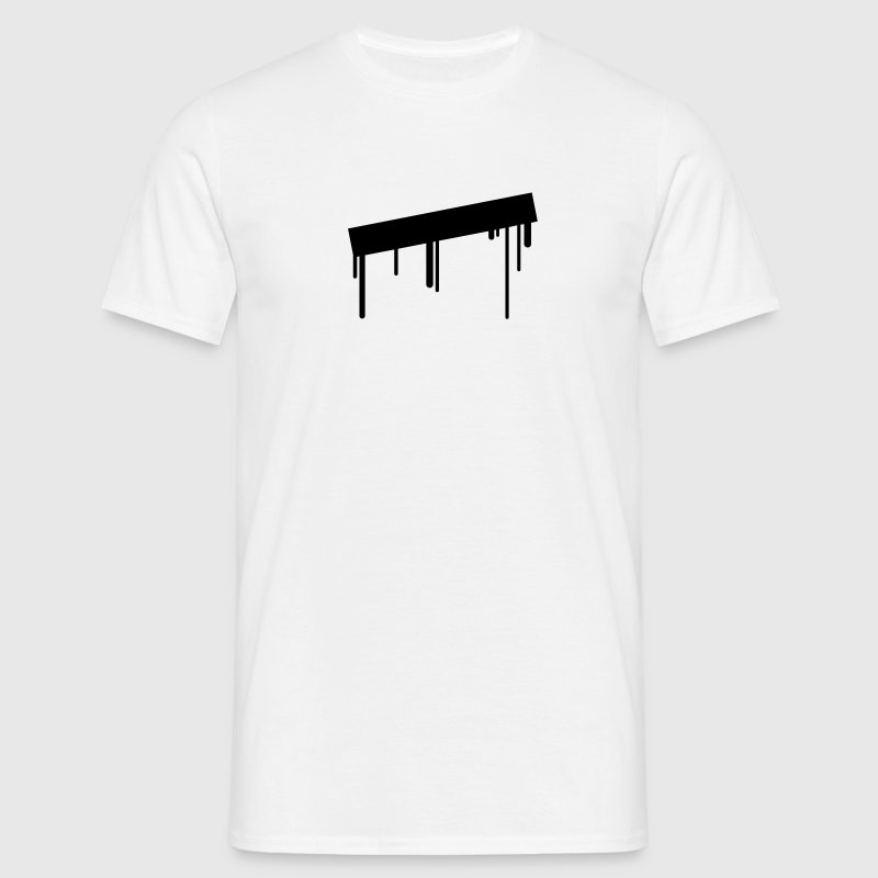 empty_graffiti_frame T-Shirts - Men's T-Shirt