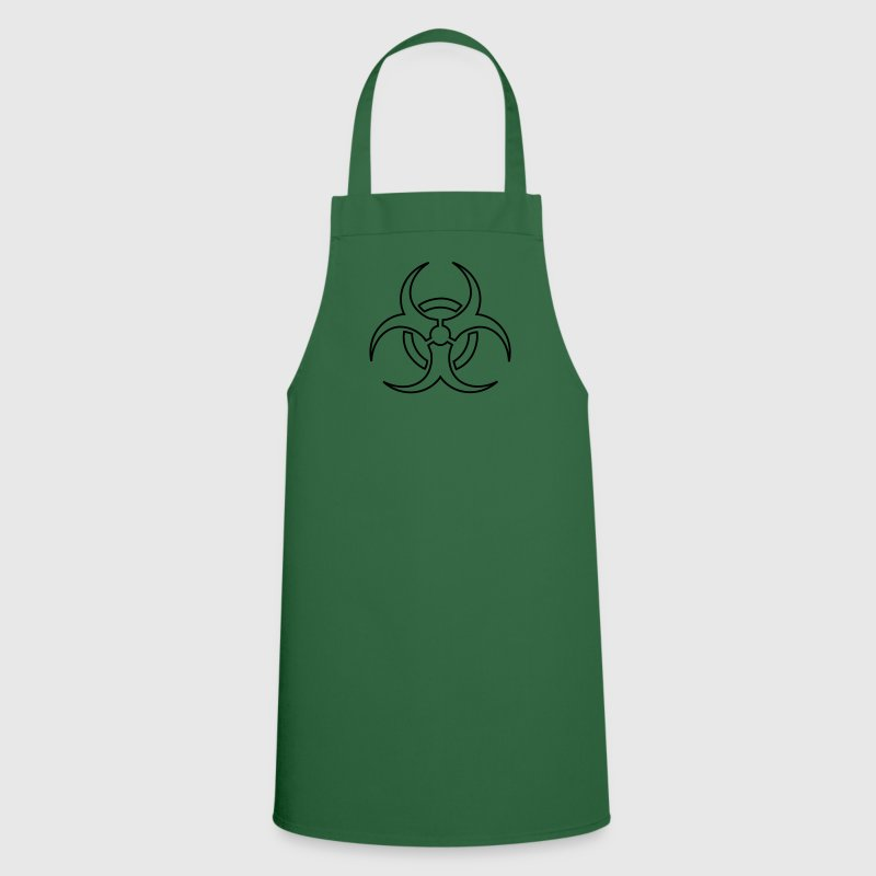 biohazard - outline  Aprons - Cooking Apron