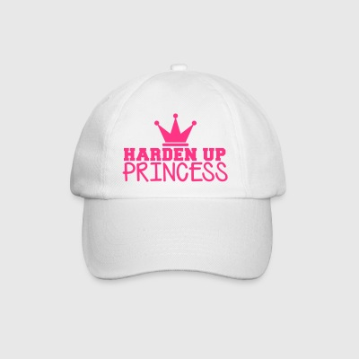 HARDEN UP PRINCESS with a royal crown Bottles & Mugs - Baseball Cap