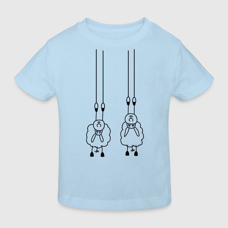 2 Sheeps on rings Shirts - Kids' Organic T-shirt