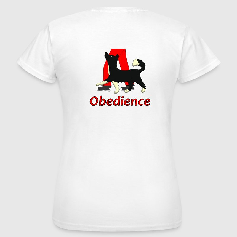 Obedience 1 Border Collie 1 Tee shirts - T-shirt Femme