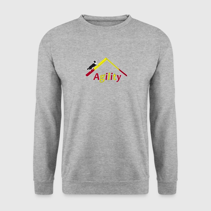 Agility Border Collie Sweat-shirts - Sweat-shirt Homme