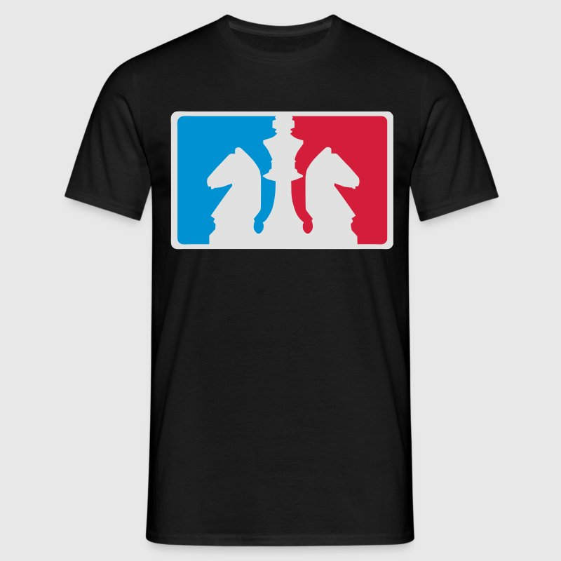 Disziplin Chess Logo T-Shirts - Men's T-Shirt