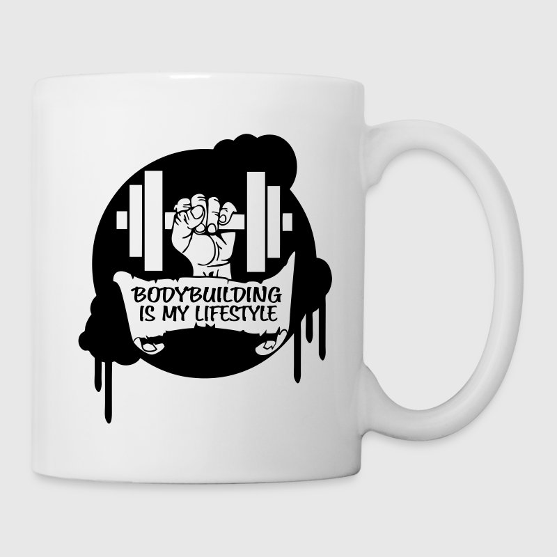 Bodybuilding is my Lifestyle Drips Direct Bottles & Mugs - Mug