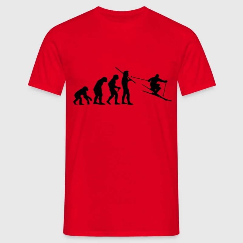Ski Evolution T-Shirt - Männer T-Shirt