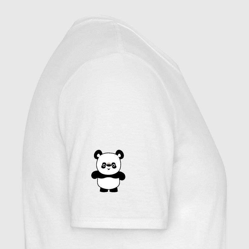 Cute Happy Cartoon Panda Water Bottle by Cheerful Madness!! - Men's T-Shirt