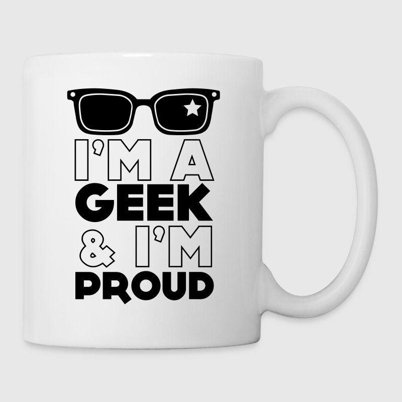I'm a geek and I'm Proud Bottles & Mugs - Mug