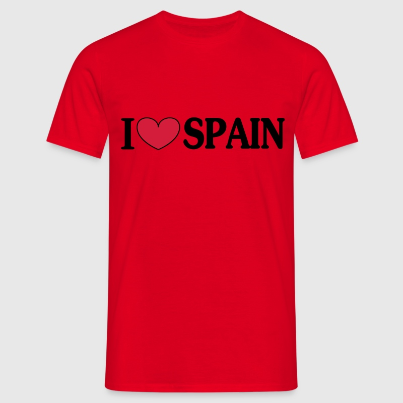 i love spain -  T-Shirts - Men's T-Shirt