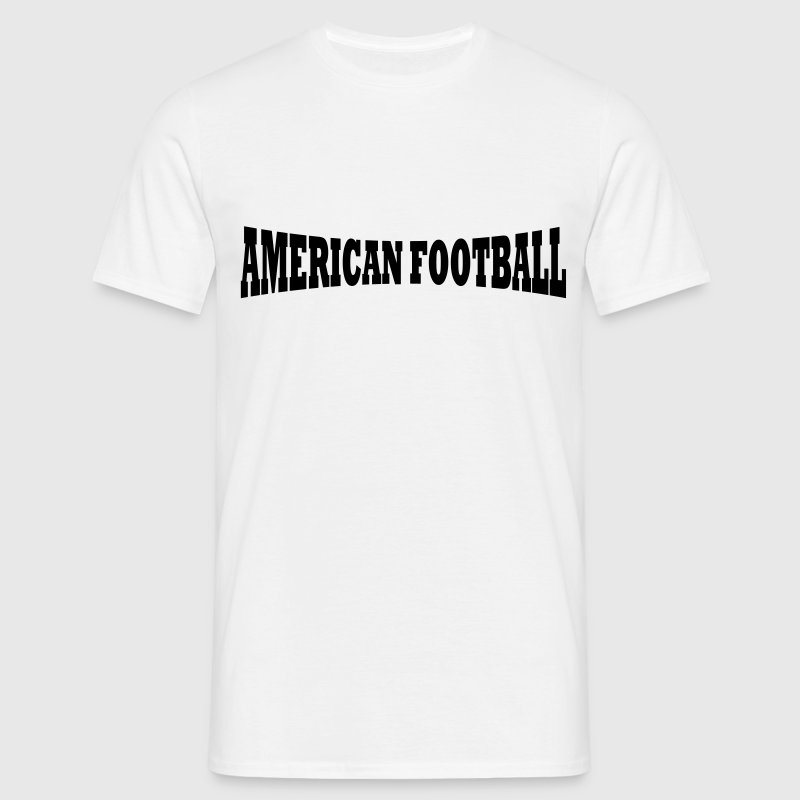 Lettrage de football américain - T-shirt Homme