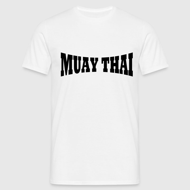 Lettrage Muay Thai - T-shirt Homme