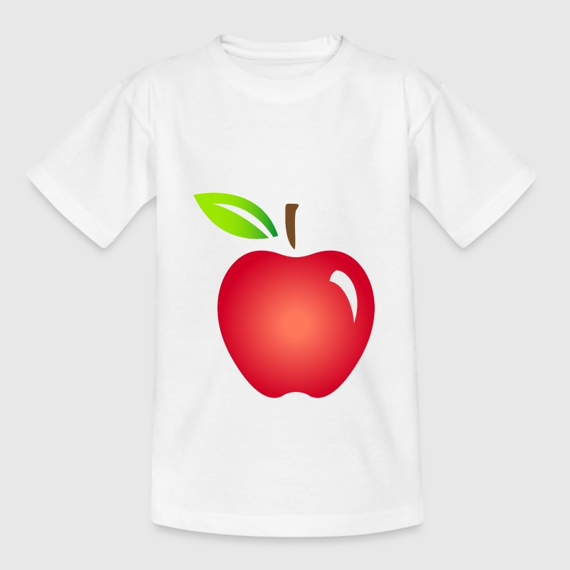 Apple Fruit (dd)++ Kinder shirts - Kinderen T-shirt