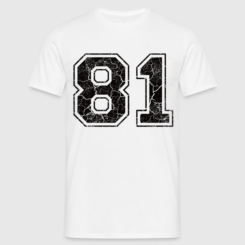 Paie 81 in Grunge Look T-Shirts - Men's T-Shirt