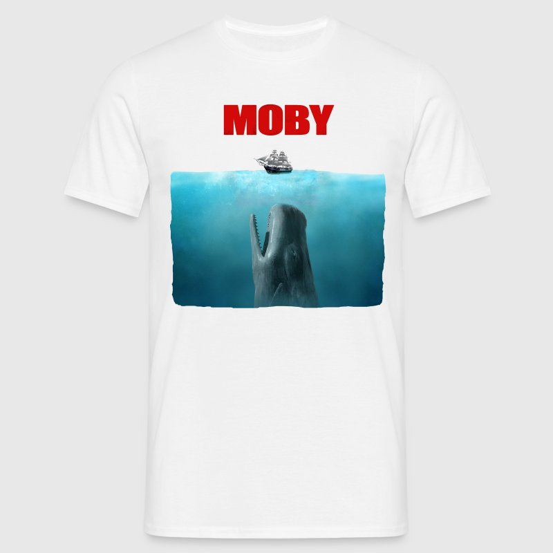 Poster Moby - T-shirt Homme