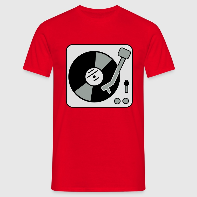 DJ Turntable T-shirts - Mannen T-shirt