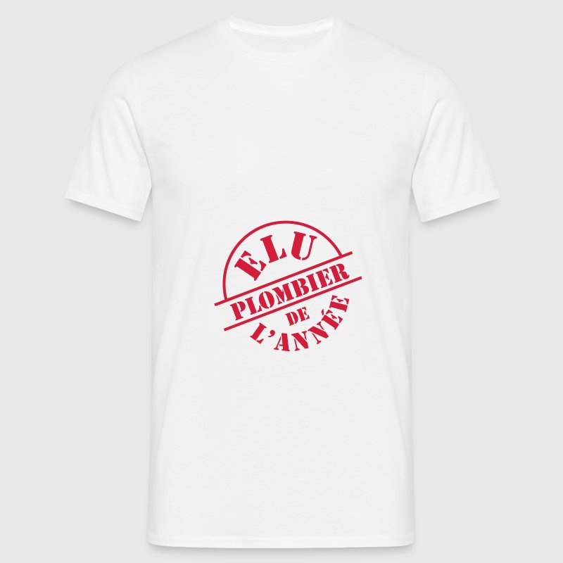 ## Plombier ## Tee shirts - T-shirt Homme
