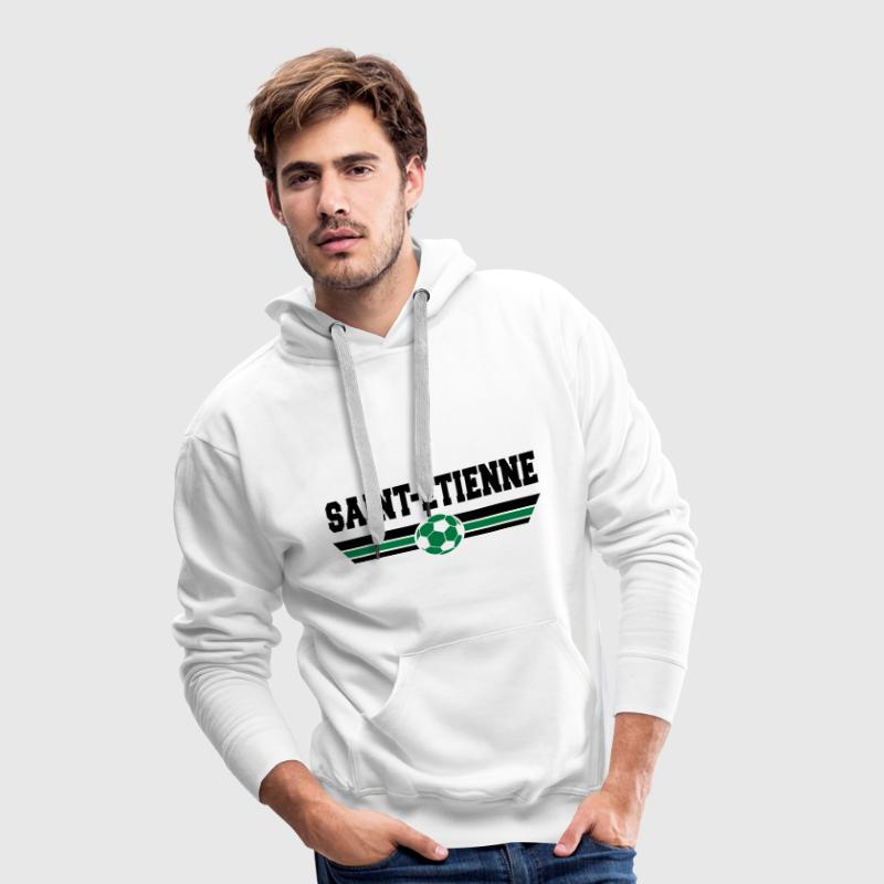 Saint-Etienne foot 2013 Sweat-shirts - Sweat-shirt à capuche Premium pour hommes
