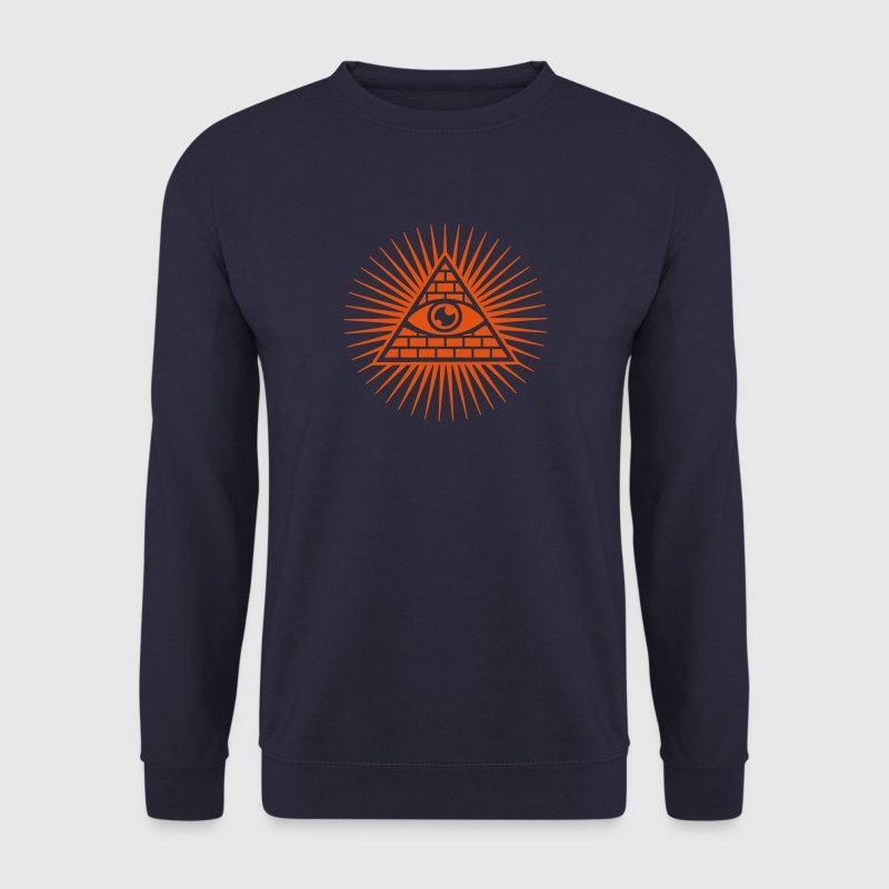 All seeing Eye, Pyramid, Horus, Triangle, Symbols, T-shirts & Hoodies - Men's Sweatshirt