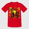 Rot Happy Birthday-Geburtstag-9 Jahre Kinder T-Shirts - Teenager T-Shirt