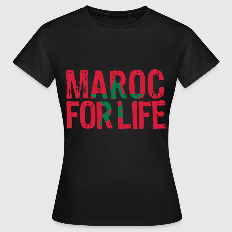 Morocco for life grunge vect - Women's T-Shirt