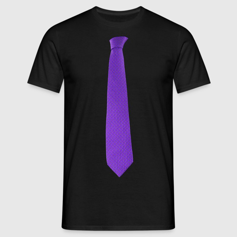 Purple Tie - T-shirt Homme