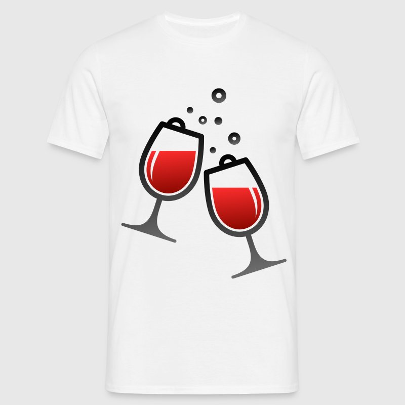 Wine Glasses (dd)++ T-Shirts - Männer T-Shirt