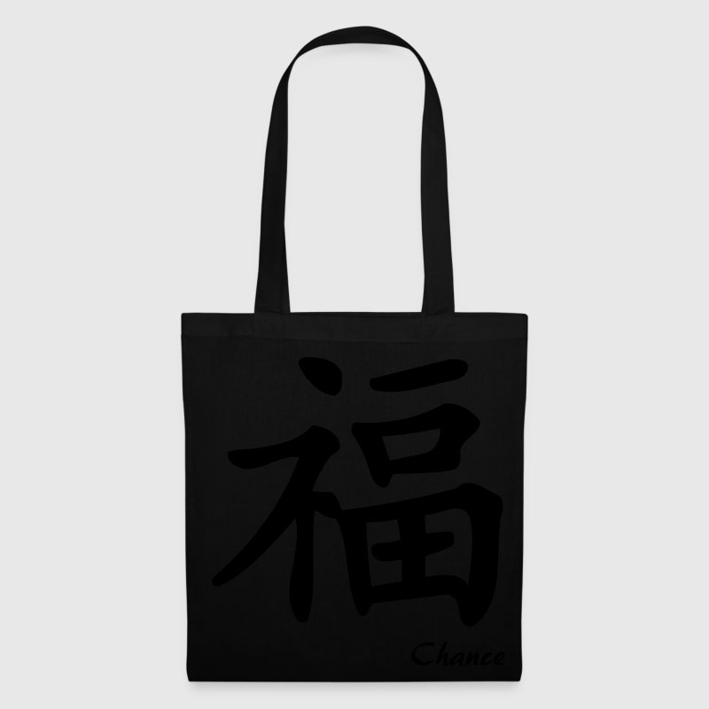 tote bag signe chinois chance spreadshirt. Black Bedroom Furniture Sets. Home Design Ideas