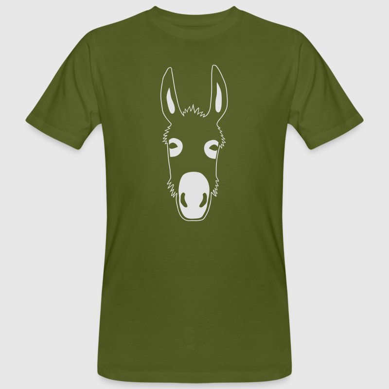 donkey mule jackass horse fool idiot jack ass T-Shirts - Men's Organic T-shirt