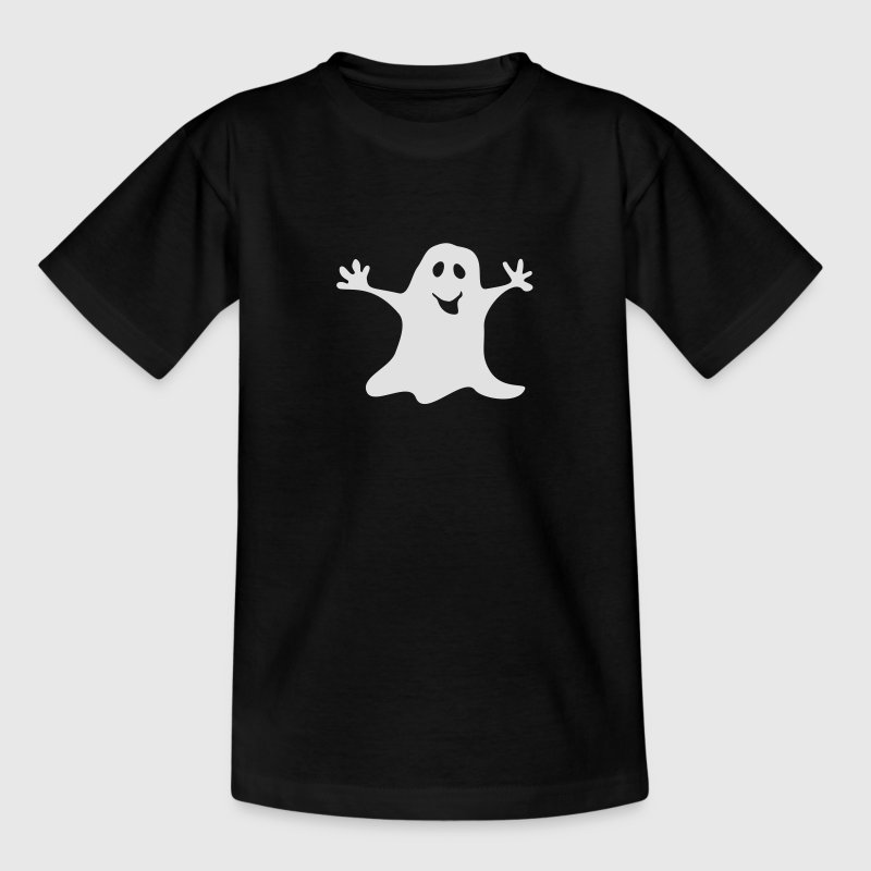 geest spook Halloween one colour - Kinderen T-shirt