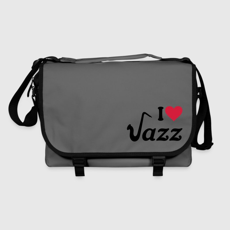 I love Jazz Saxophone Sax Music Instument Bags  - Shoulder Bag